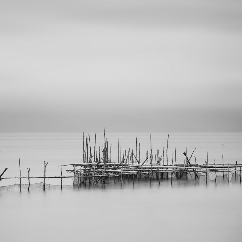 Photo in Black and White #seascape #black and white #nature #landscape #fine art