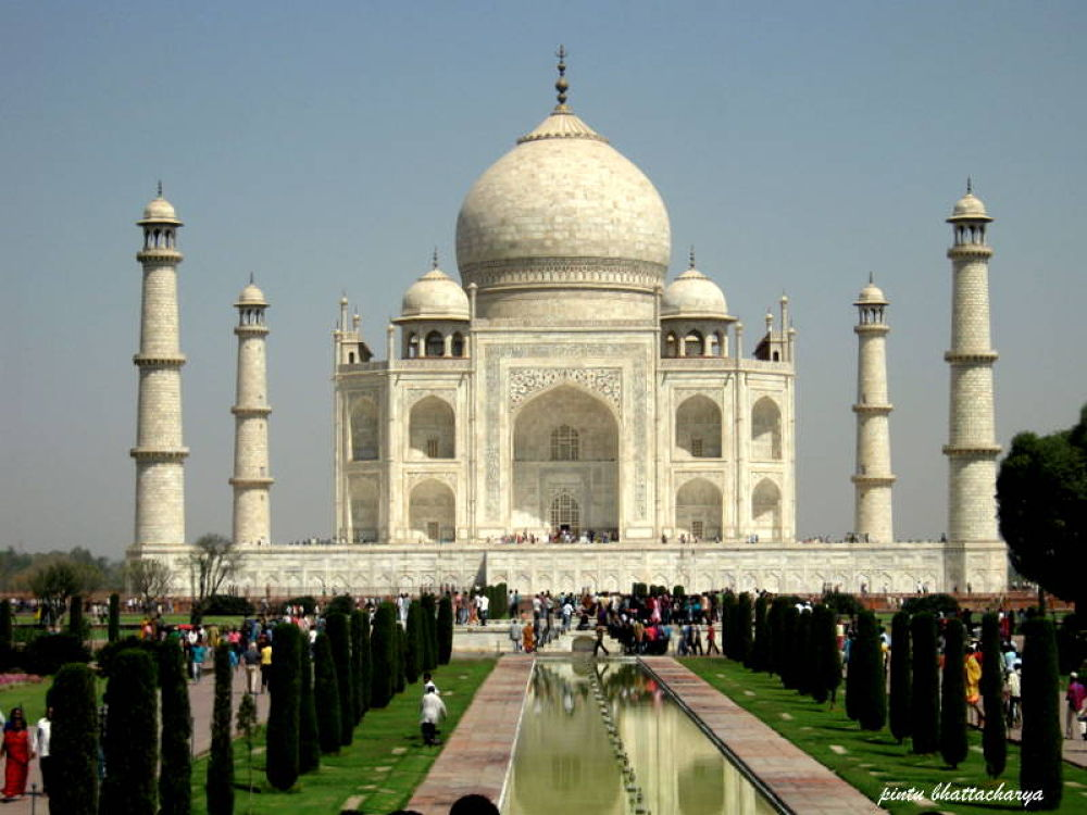 Photo in Architecture #tazmahal at agra #up #india