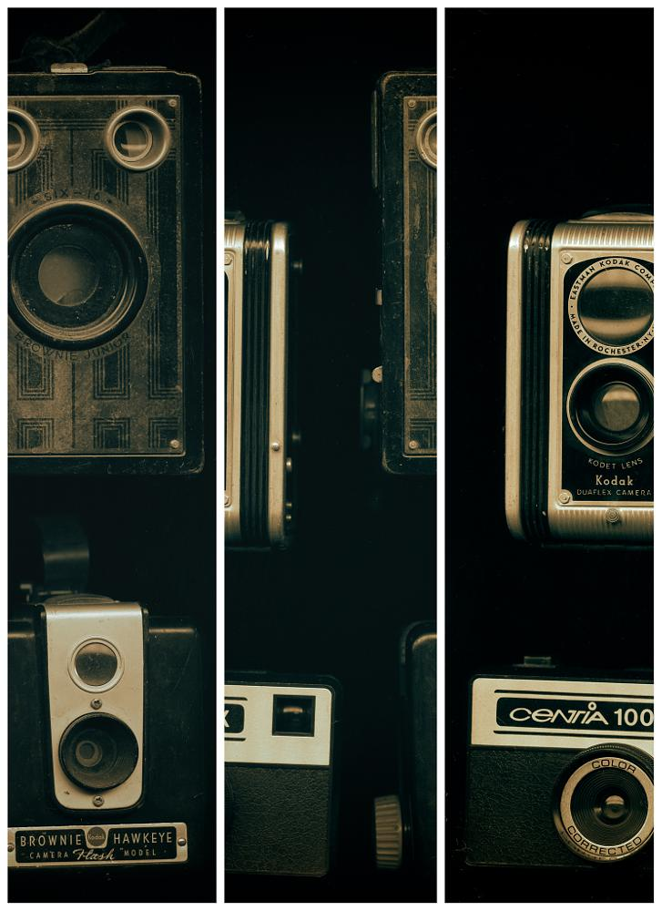 Photo in Random #scanner art #fun #old cameras