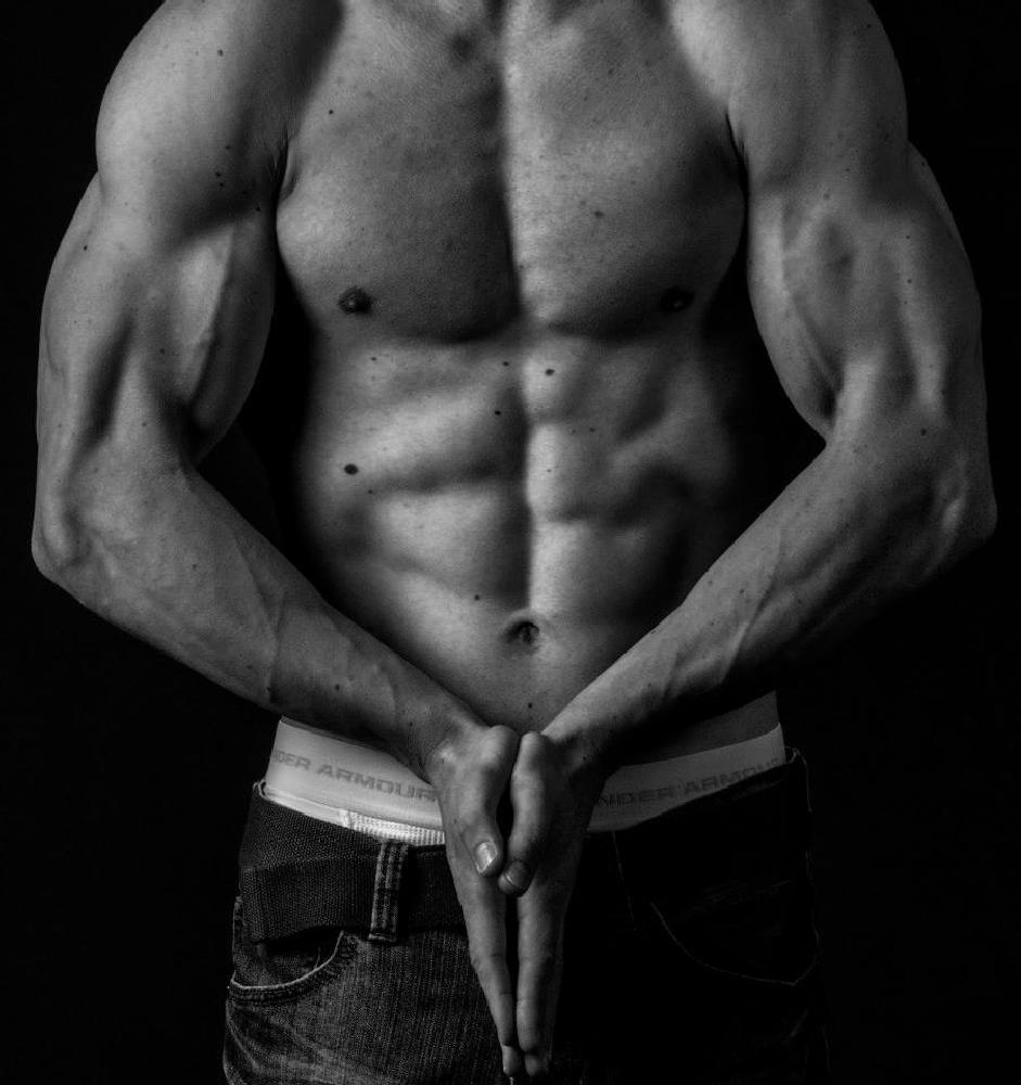 Photo in Fine Art #people #human body #body builder