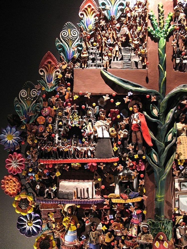 Photo in Travel #tree of life #folk art #árbol de la vida #artesanía #arte popular #mexico #craft