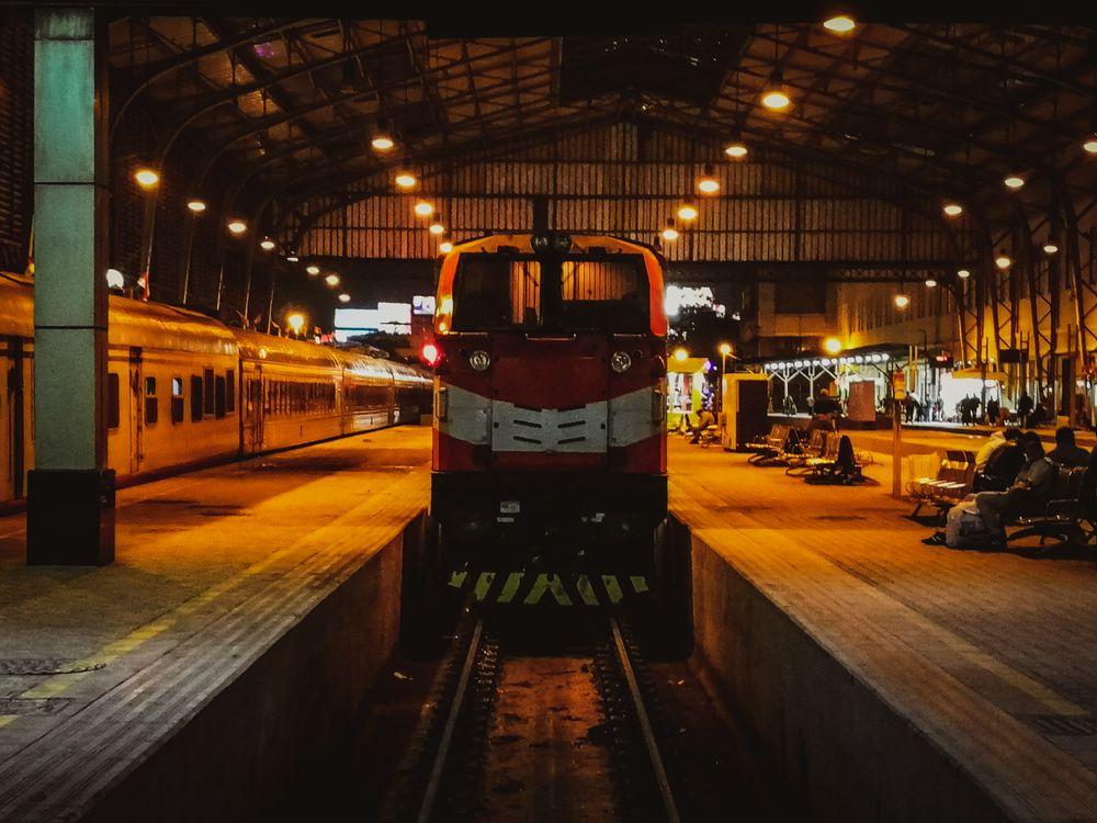 Photo in Random #train #trainstation #station #railway #photooftheday #youpic #rail #night