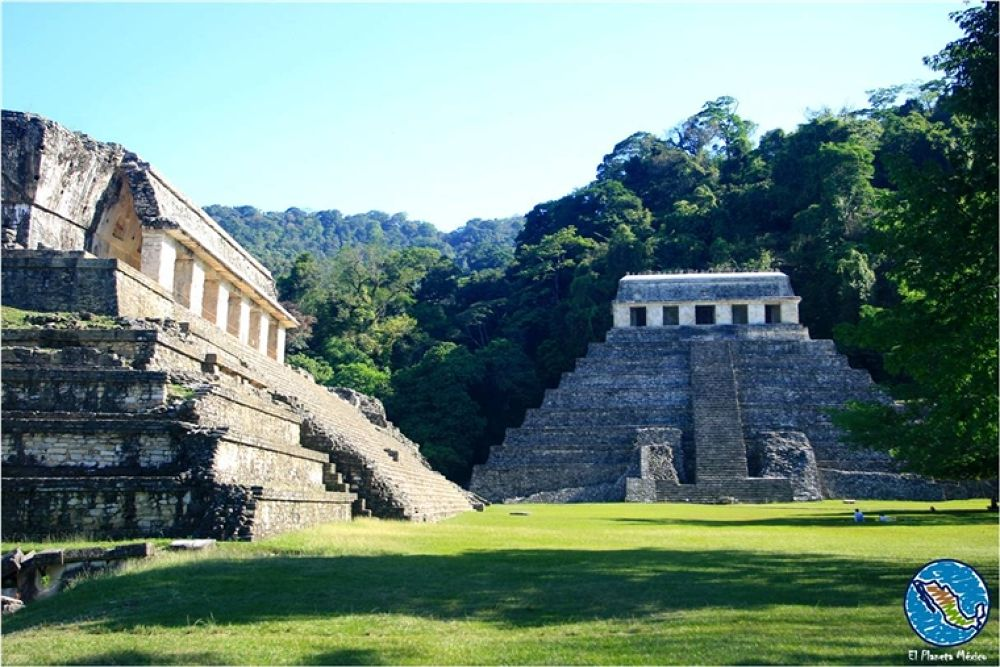Photo in Travel #palenque #chiapas #mexico #inscriptions #palace #maya
