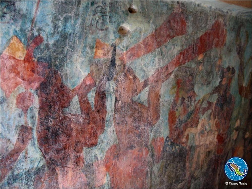 Photo in Travel #murals. #paintings #archaeology #bonampak #chiapas #mexico #maya