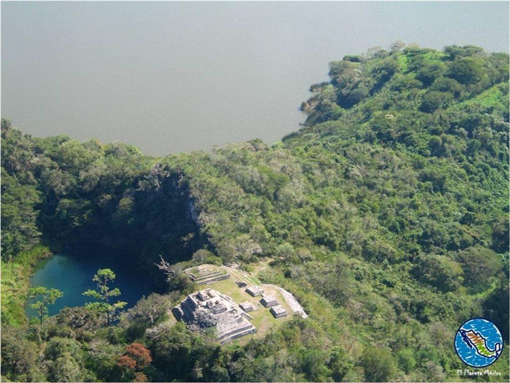 Photo in Travel #chinkultik #archaeology #cenote #sinkhole #chiapas #mexico