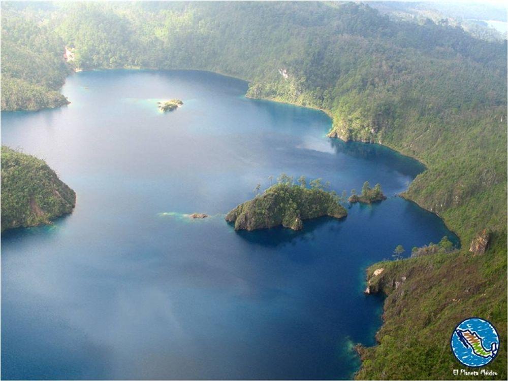 Photo in Travel #montebello #lakes #chiapas #mexico #aerial view