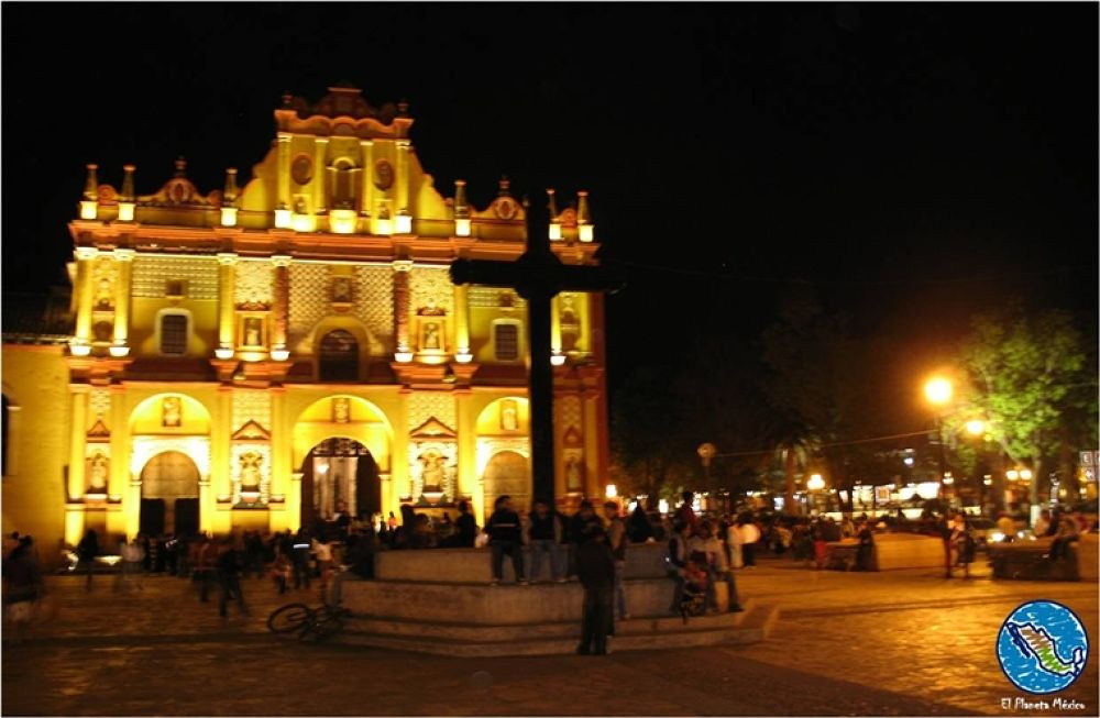 Photo in Travel #san cristobal #chiapas #cathedral #mexico