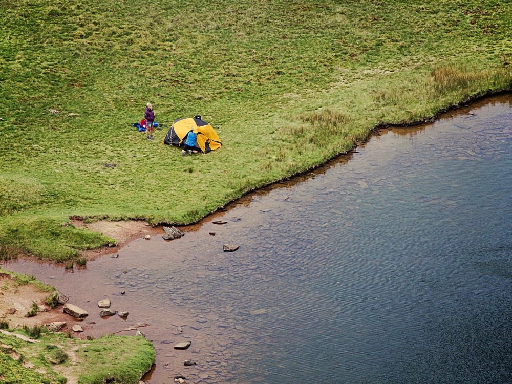 Photo in Landscape #camping #nature #wales