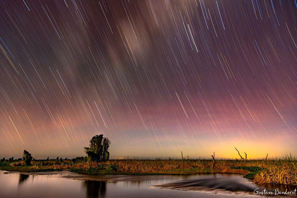 Photo in Travel #sunset #via lactea #argentina #formosa