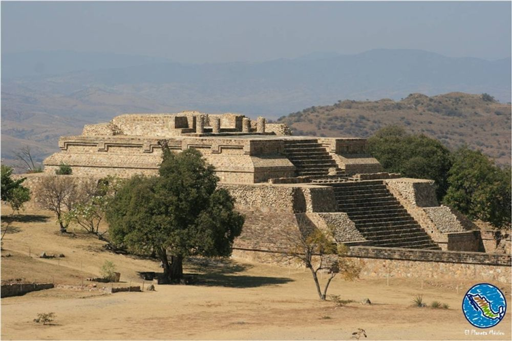 Photo in Travel #monte alban #archaeological site #oaxaca #mexico #zapotec