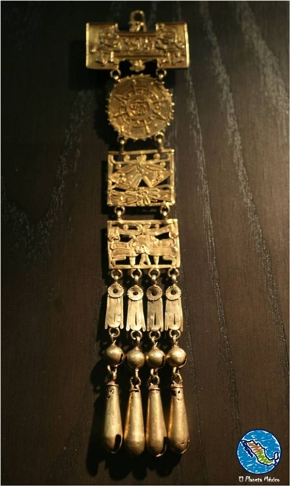 Photo in Travel #tomb #treasure #museum #archaeology #oaxaca #mexico #monte alban #gold