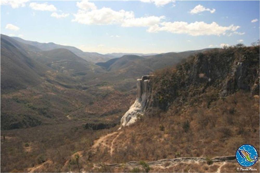 Photo in Travel #hierve el agua #oaxaca #mexico #petrified falls