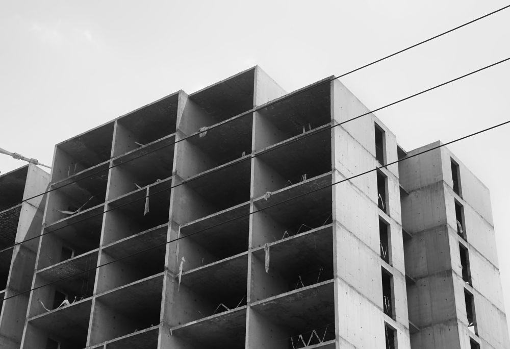 Photo in Architecture #the building #building #bw #black and white #architecture #iran #mashhad #gray