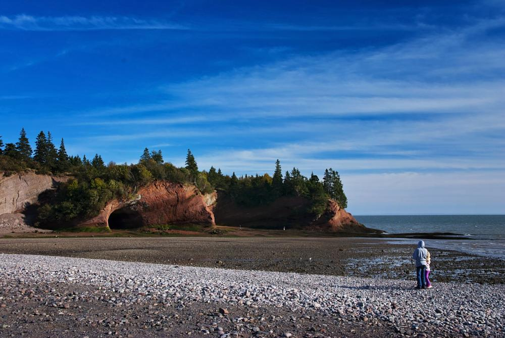 Photo in Travel #cave #st martins #ocean view #travel #new brunswick