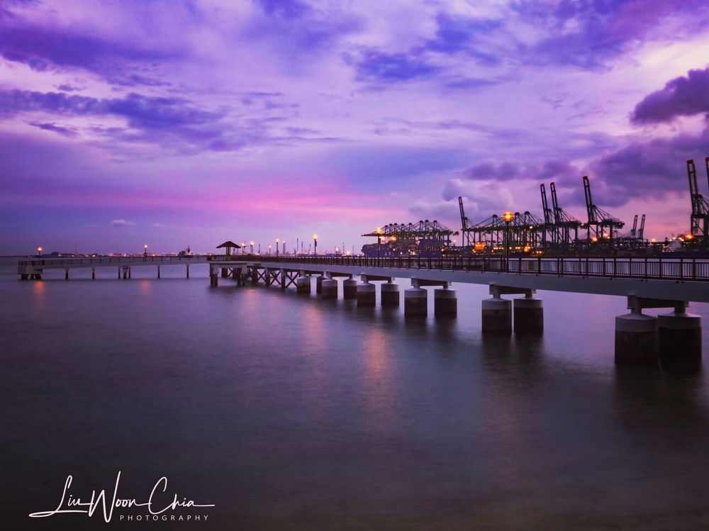 Photo in Sea and Sand #sunsetphotography #bluehourphotography #sunsetshooter #seascapephotography #travelphotography #visitsingapore #natgeo #natgeophotography #urbanphotography #coastalphotography #iphonephotography