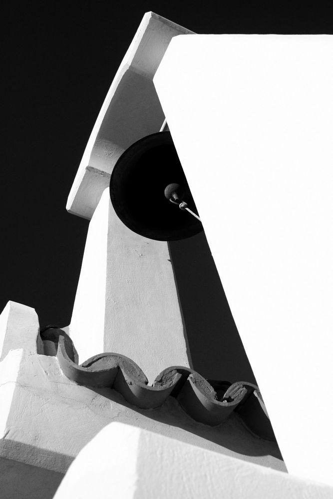 Photo in Random #black and white #church #bell #monochrome