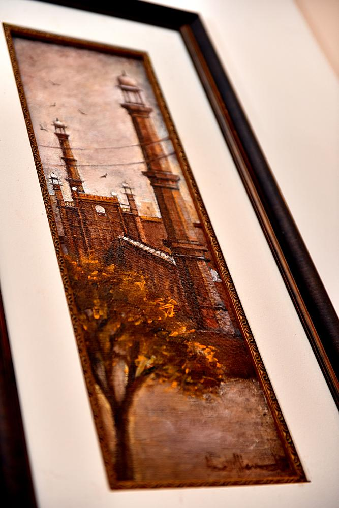 Photo in Fine Art #art work #painting #colors #frame #art #sketching #mosque