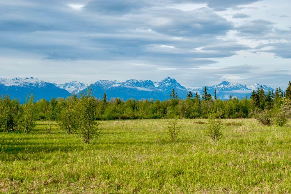 Photo in Landscape #scenic view #park #mountains #lake #alaska