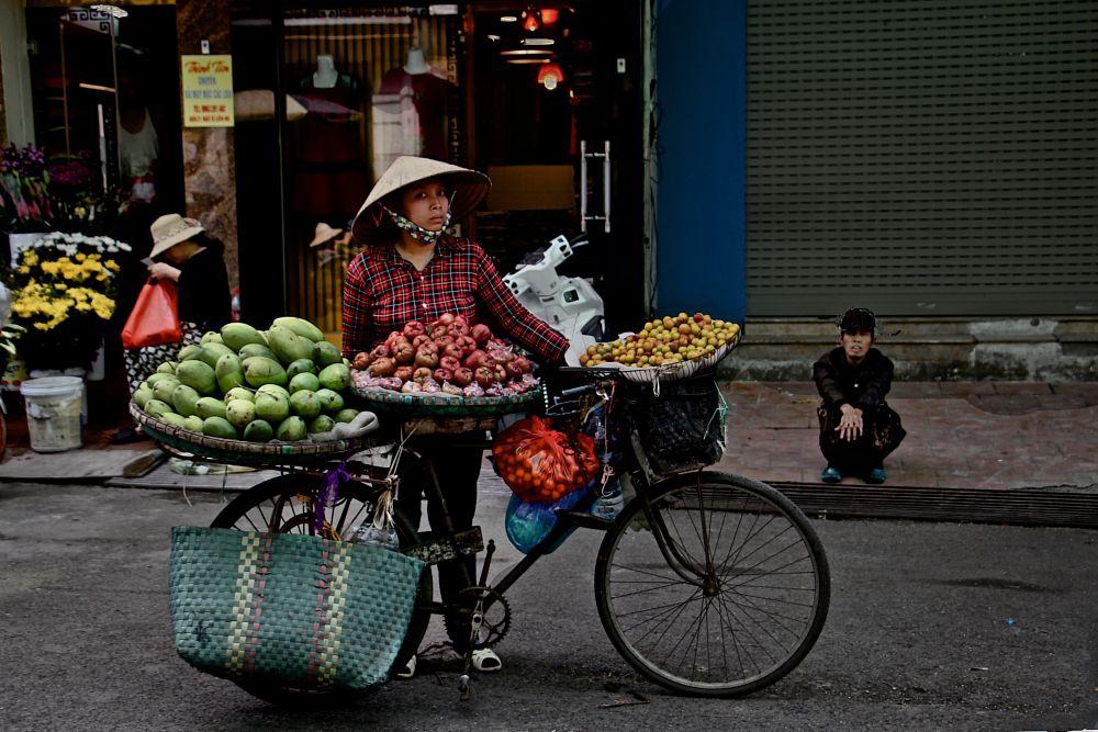 Photo in Food #vietnam #hanoi #fruit seller #food