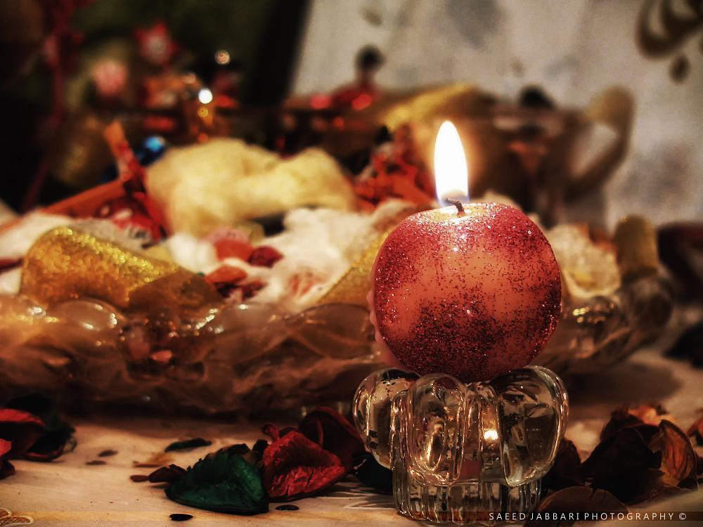 Photo in Still Life #iran #yalda #candle #light #longest #night
