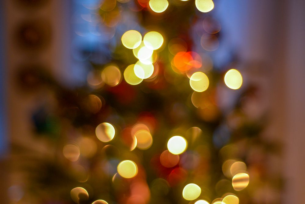 Photo in Abstract #lights #blur #bokeh #soft focus #holiday #color #festive #christmas #tree