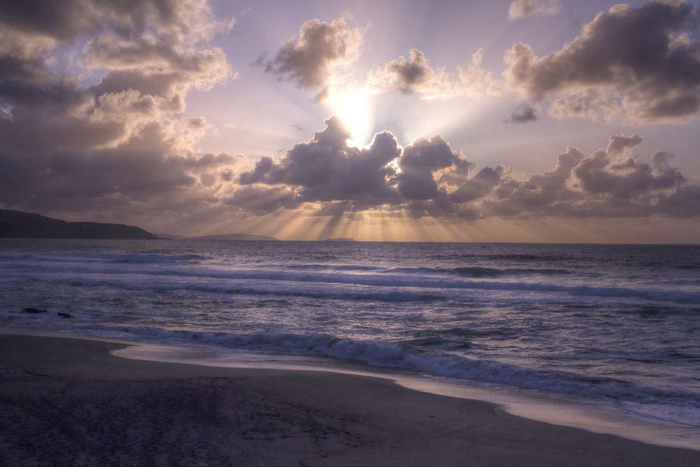 Photo in Random #arteixo #galicia #galician #sunset #puesta de sol #coast #costa #beach #playa