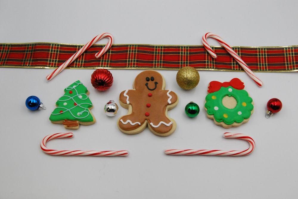 Photo in Random #christmas #food #cookies #decorations