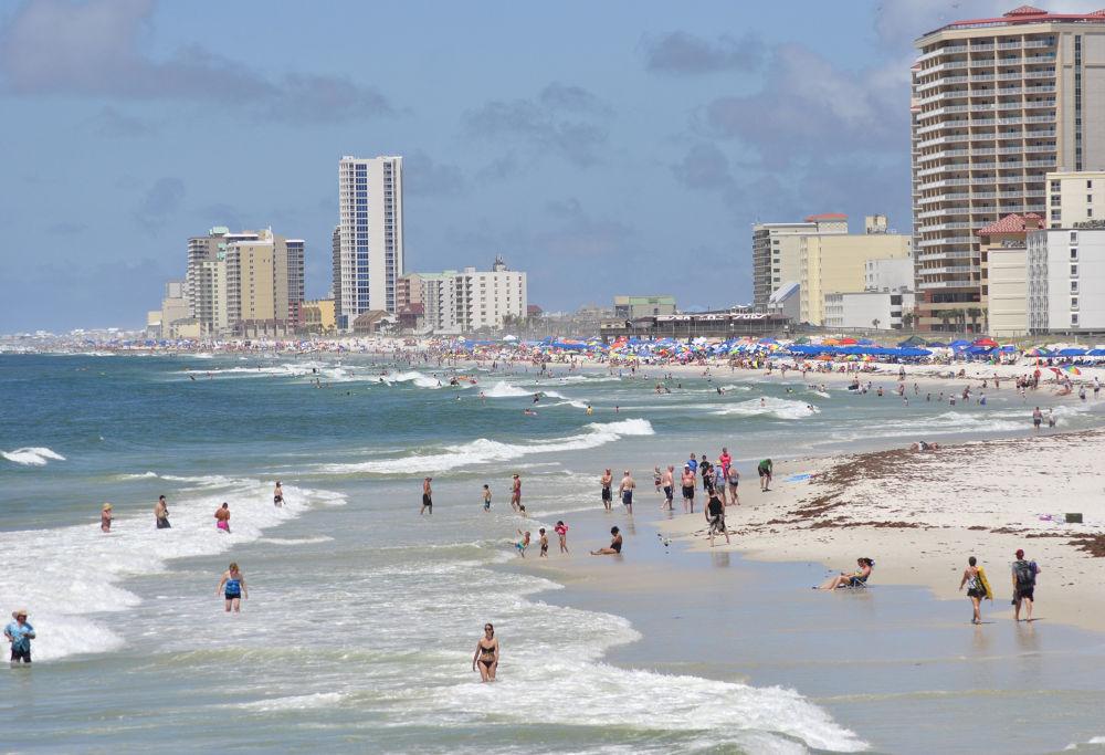 Photo in Random #beach; water; people; gulf sho