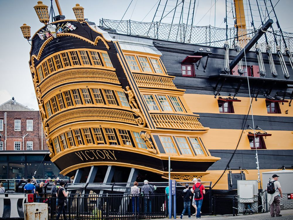 Photo in Architecture #victory #ship #nelson #dockyard #naval #portsmouth