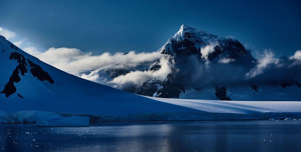 Photo in Landscape #antarctica #neumayer channel #wiencke island #luigi peak #ice #mountain #snow #no person #outdoors