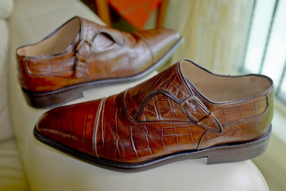 Photo in Product #mokstrap #men's shoe #footwear #shoe