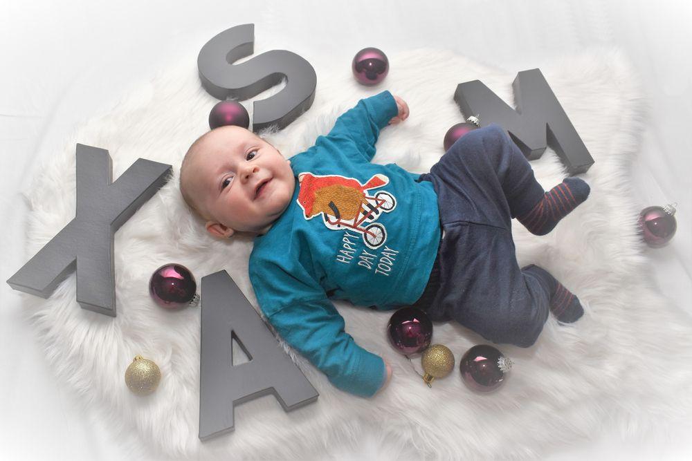 Photo in Family #grandson #laugh #look #happy #love #xmas #chrismas #baby