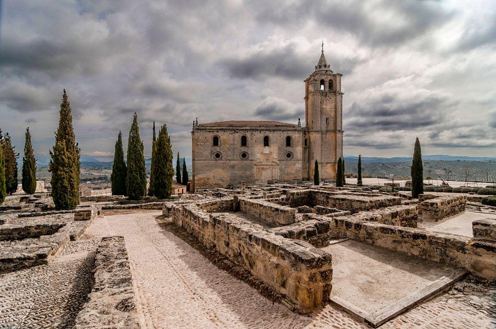 Photo in Architecture #alcala #fortaleza #iglesiachurchabbeyabadiaca #castillo #castle #iglesia #church #jaen #granada #castilla #españa #forntera #andalucia #andalusia #torre #tower #ruinas #ruins #medieval #renacimiento #renaissance #piedra #stone