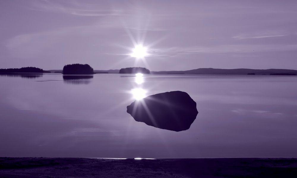 Photo in Landscape #lake #sun #peaceful #island #tranquility