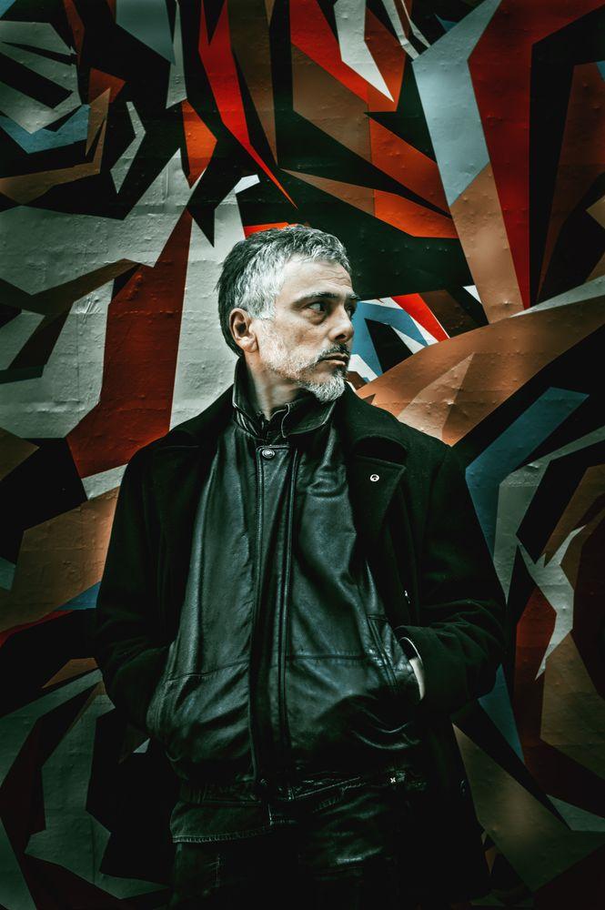 Photo in Street Photography #portrait #man #street #wall #nikon #bokeh #mood #ny #city #manhattan #nyc #colorful wall