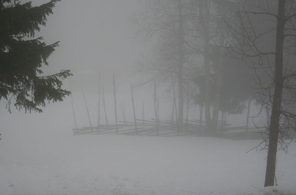 Photo in Landscape #snowsmok