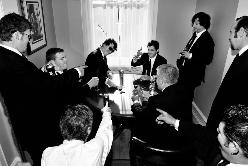 Photo in Wedding #groom #groomsmen #poker #beer #wedding