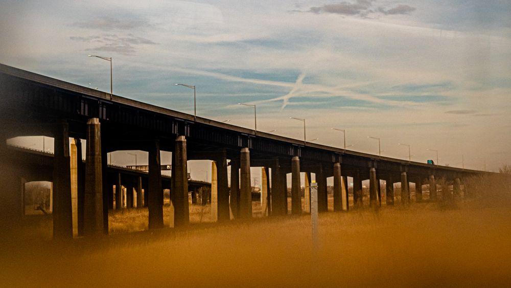 Photo in Industrial #street #industrial #bridge #architecture #vaseline