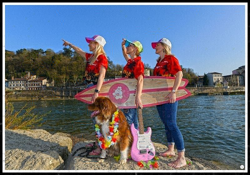 Photo in Portrait #surf   girls   dogs