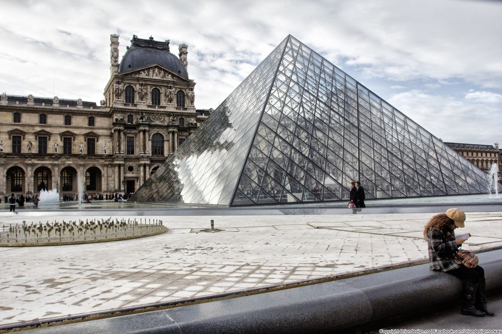Photo in Architecture #musée du louvre #paris