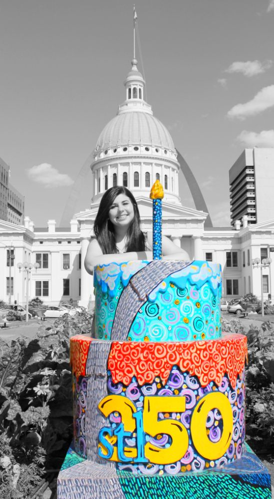 Photo in Cityscape #cakes #st louis #250
