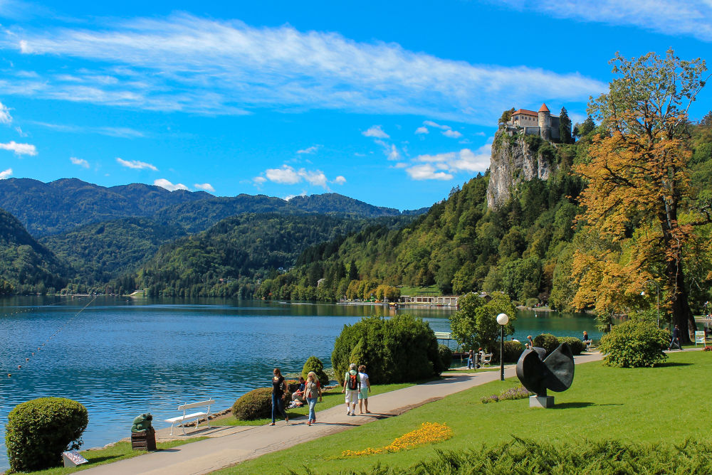 Photo in Travel #bled #slovenia #alps