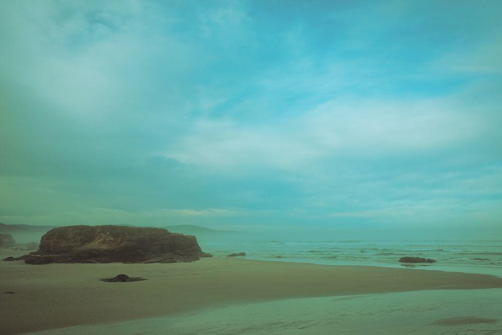 Photo in Landscape #winter #beach #landscape #mist