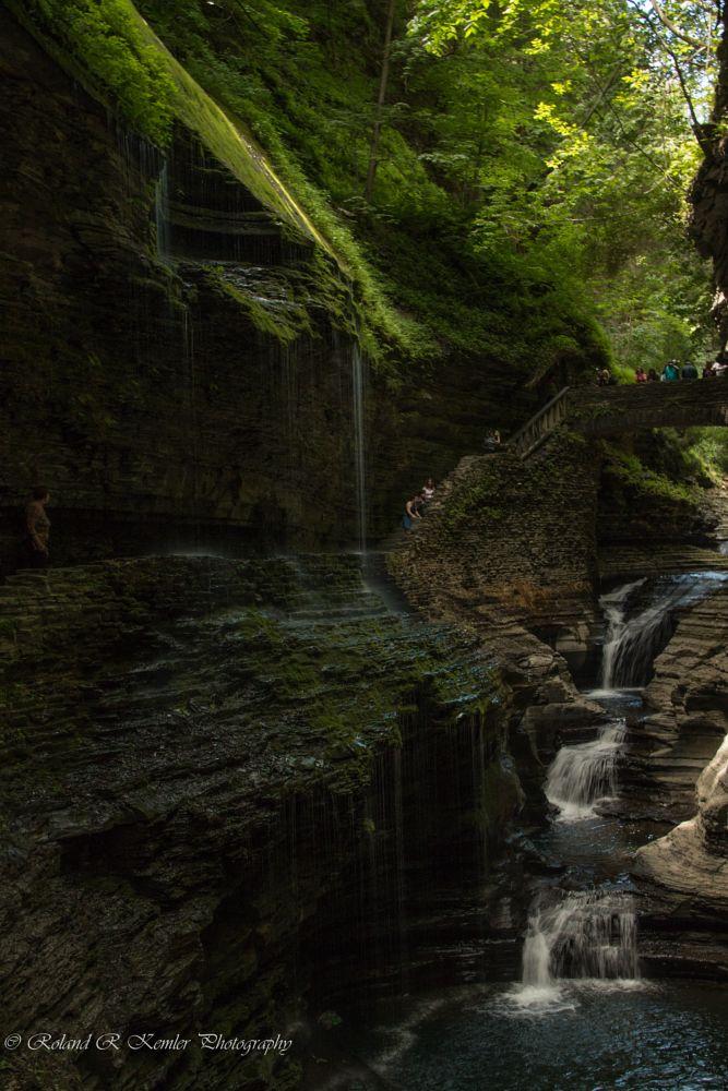 Photo in Landscape #watkins glen state park #watkins glen #ny #landscape #water #nature