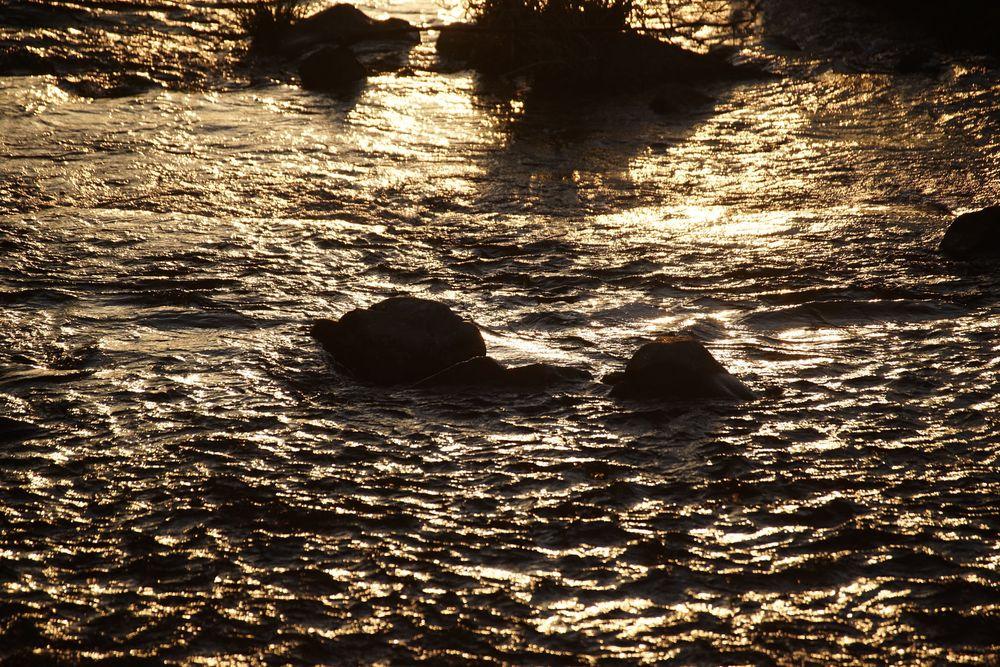 Photo in Nature #sunset #river #takanogawa