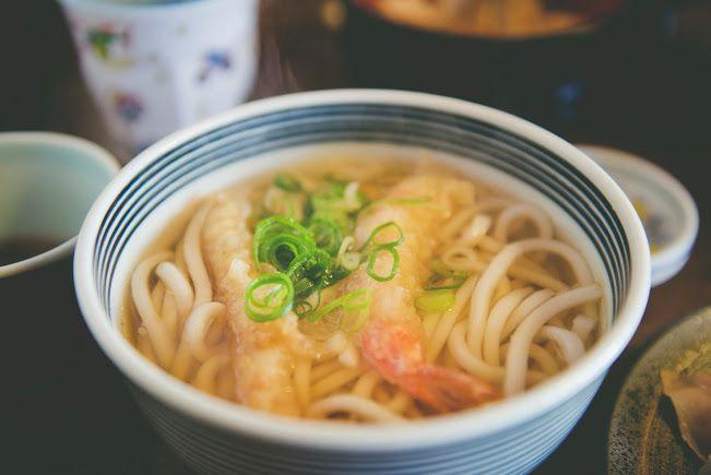 Photo in Food #udon #kyoto #food #tempura