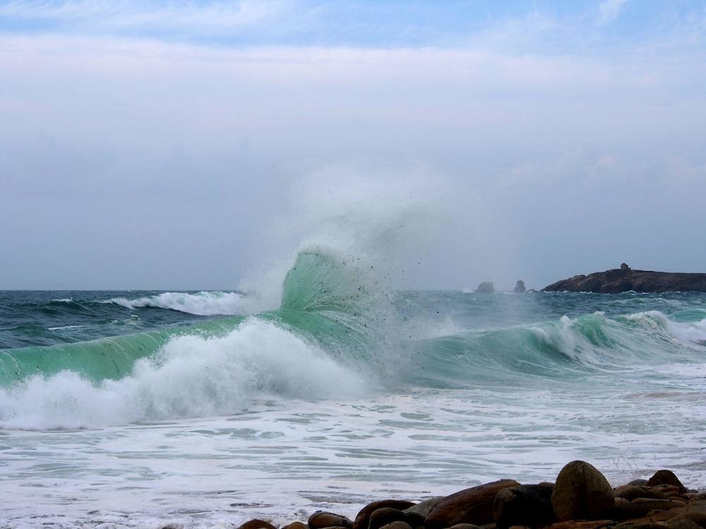 Photo in Sea and Sand #mer quiberon rouleau