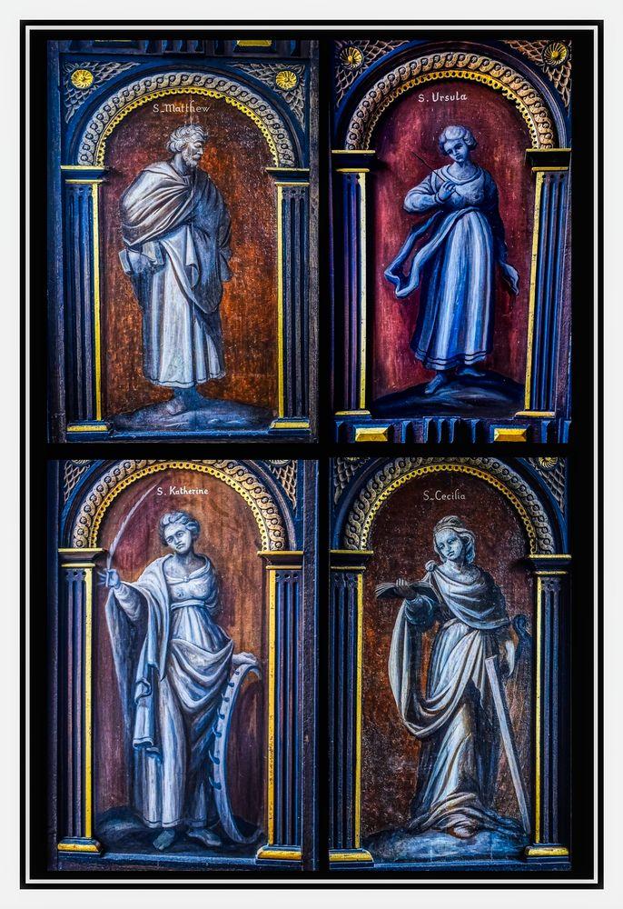 Photo in Random #statues #portraits #saints #church #religion #art