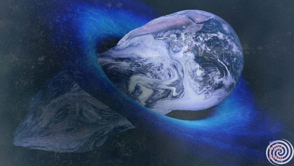 Photo in Abstract #earth #worm #black hole #black #deep space #deep #nebula #worm hole #space
