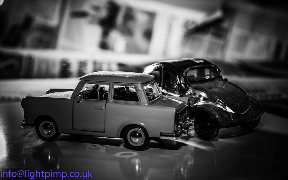 Photo in Random #car #car crash #trabant #beetle #smash